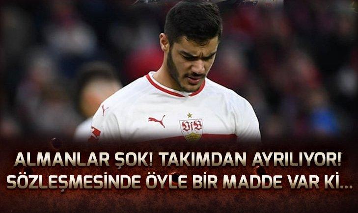 STUTTGART'TA OZAN KABAK DEPREMİ! TAKIMDAN AYRILIYOR...
