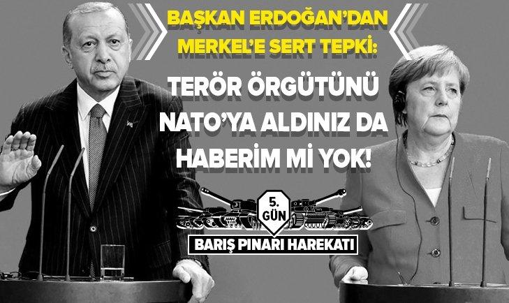 TERÖR ÖRGÜTÜNÜ NATO'YA ALDINIZ DA BENİM HABERİM Mİ YOK!