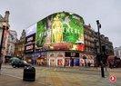 LONDRA'DA PİCCADİLLY MEYDANI'NI SÜSLEYEN THY REKLAMI
