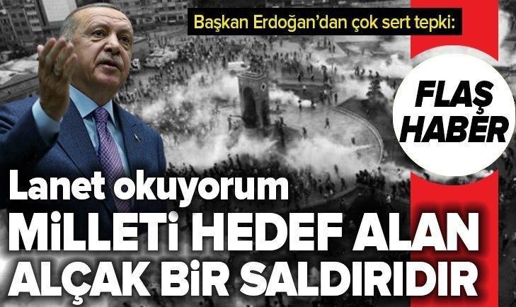 BAŞKAN ERDOĞAN'DAN GEZİ KARARINA İLK TEPKİ!