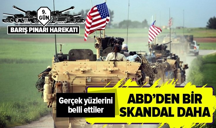ABD ÖNCÜLÜĞÜNDEKİ KOALİSYONDAN YPG/PKK PAYLAŞIMINA BEĞENİ