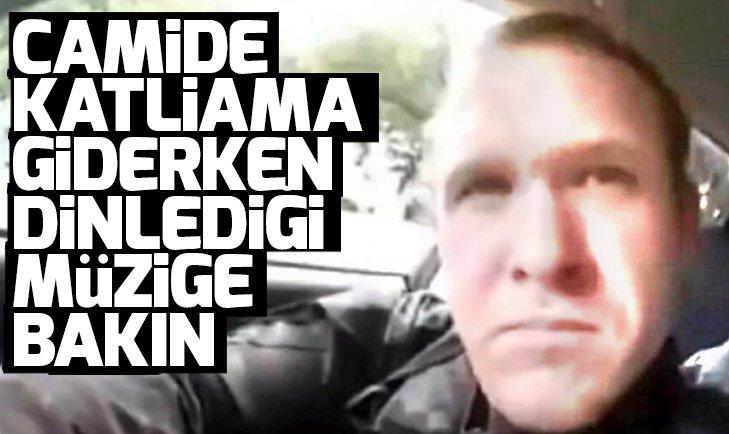 Yeni Zelanda'da camide katliam yapan teröristin dinlediği müzik dikkat çekti