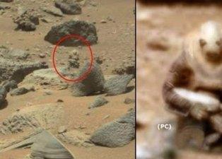 NASA bu kareleri ilk kez paylaştı! Marsa ait dehşete düşüren fotoğraflar...