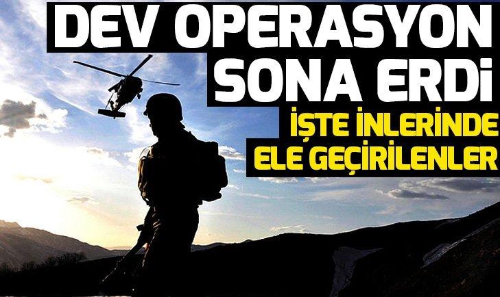 Diyarbakır'da dev operasyon sona erdi