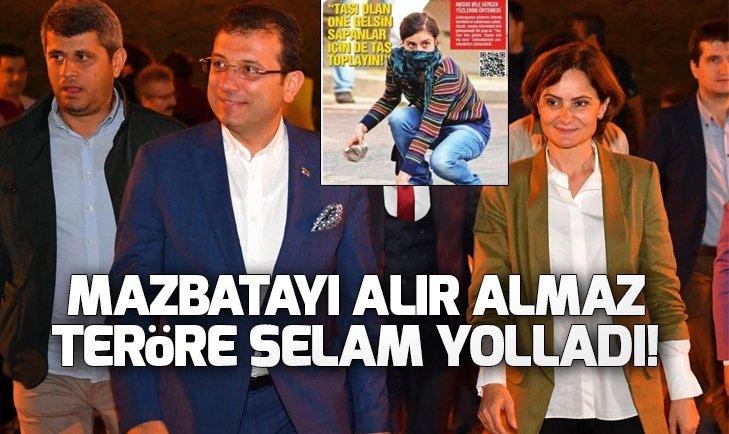 Canan Kaftancıoğlu'ndan skandal gözler!