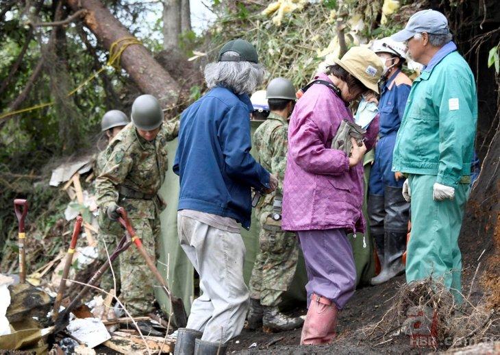 Japonya'dan dehşet görüntüler