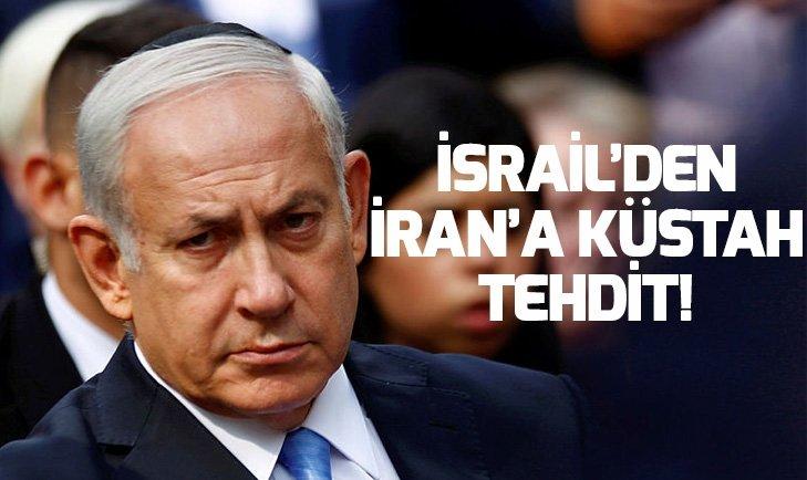 İSRAİL BAŞBAKANI NETANYAHU'DAN SURİYE VE İRAN'A TEHDİT