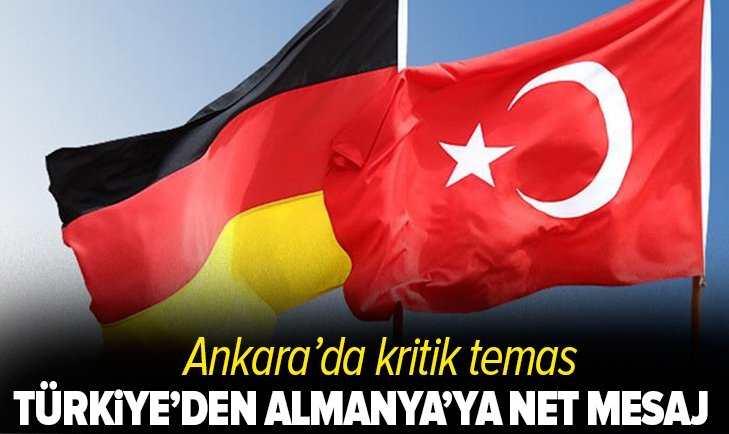 Son dakika: Bakan Hulusi Akar'dan Almanya'ya net mesaj! PKK eşittir YPG!