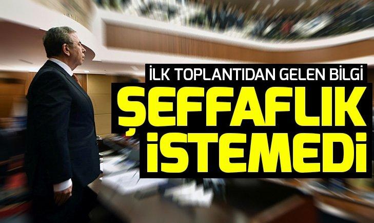 Ankara'da Mansur Yavaş 'şeffaf denetim' istemedi