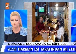 Müge Anlı'da kocası Sezai Harman'ı öldürmekle suçlanan Ayşe'nin şok görüntüleri ortaya çıktı