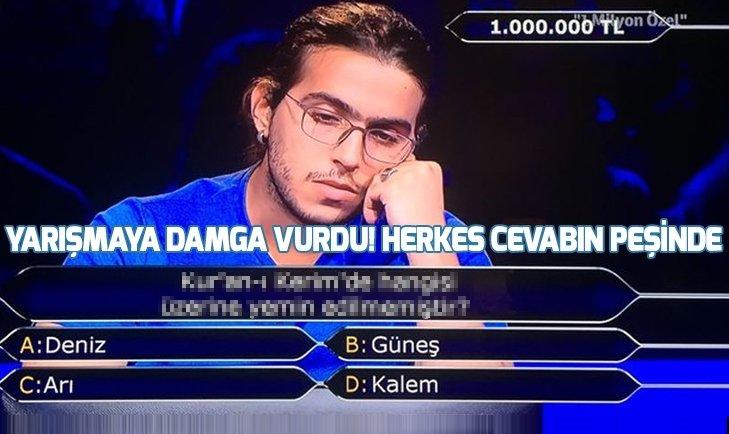 Kim Milyoner Olmak İster yarışmasına damga vuran sorular