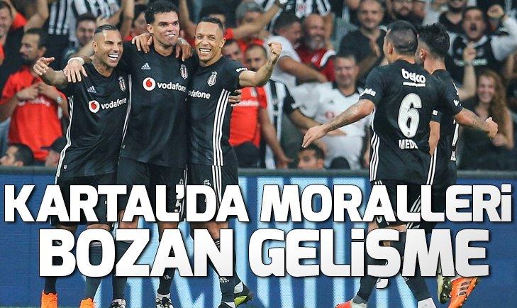 Beşiktaş'ta derbi öncesi Adriano şoku