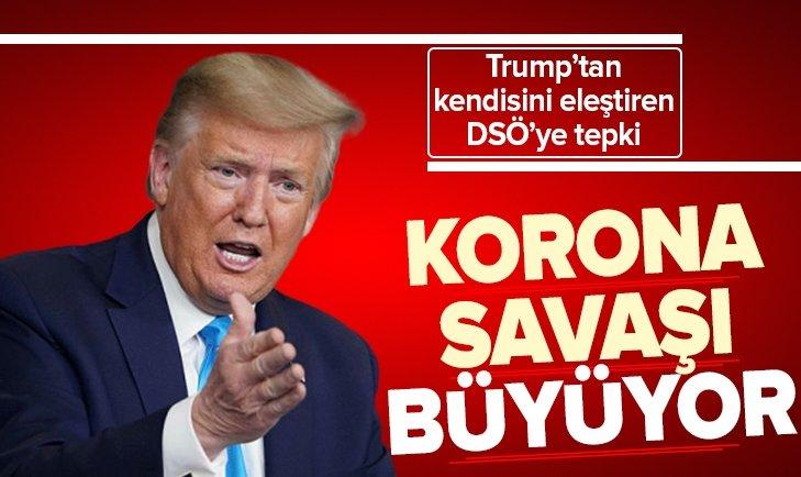 ABD-DSÖ ARASINDAKİ 'KORONAVİRÜS SAVAŞI' BÜYÜYOR