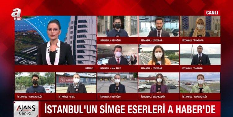 İstanbul'un simgeleri A Haber'de