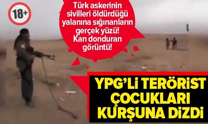 PKK/YPG'Lİ TERÖRİST MASUM ÇOCUĞU KURŞUNA DİZDİ +18