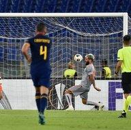 İşte Roma - Başakşehir maçından kareler...