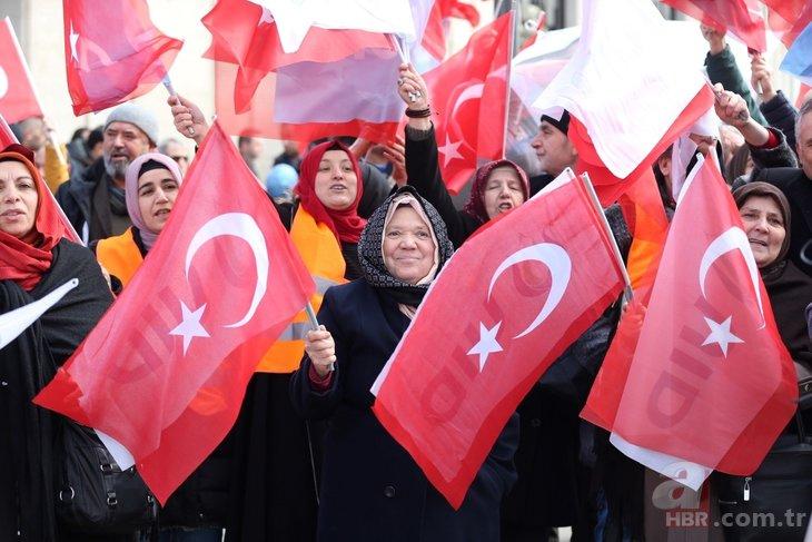 Başkan Erdoğan'a Belçika'da coşkulu karşılama