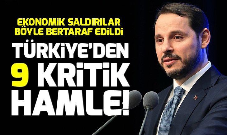Türkiye'den 9 kritik hamle!