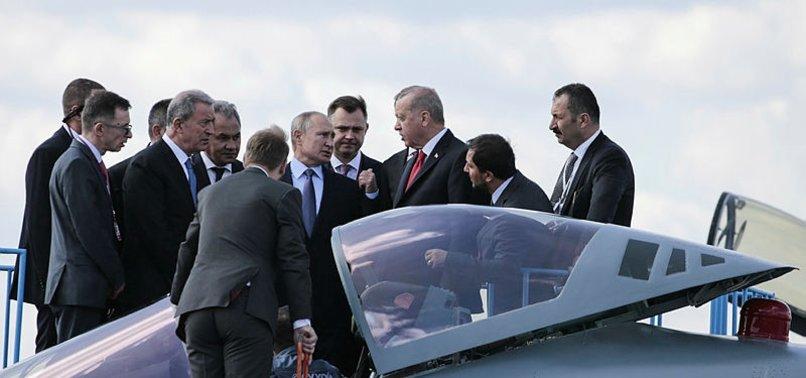 TÜRKİYE'DEN SU-57 SAVAŞ UÇAĞI İÇİN ÖNEMLİ GÖRÜŞME
