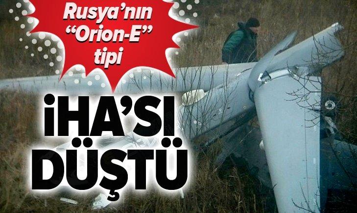 SON DAKİKA: RUSYA'DA ORİON-E TİPİ İHA DÜŞTÜ