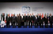 D-8 Ekonomik İşbirliği Örgütü'nden ortak bildiri