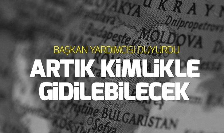 Moldova ve Türkiye arasında kimlikle seyahat uygulaması başlıyor