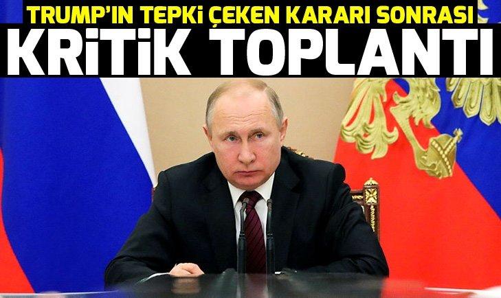 Putin'den 'Golan Tepeleri' için kritik toplantı