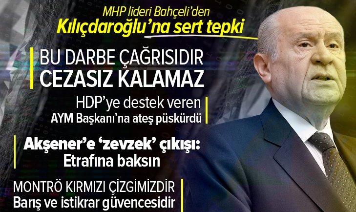 Son dakika: MHP lideri Devlet Bahçeli'den grup toplantısında önemli açıklamalar