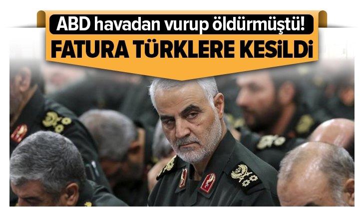 SÜLEYMANİ'NİN FATURASI TÜRKLERE KESİLDİ!