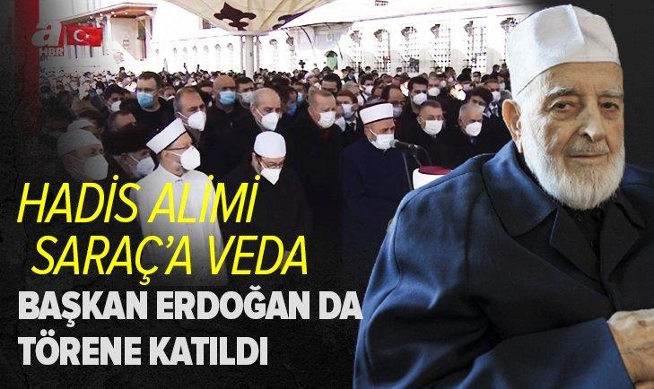 HadisAlimi Muhammed Emin Saraç'a son görev