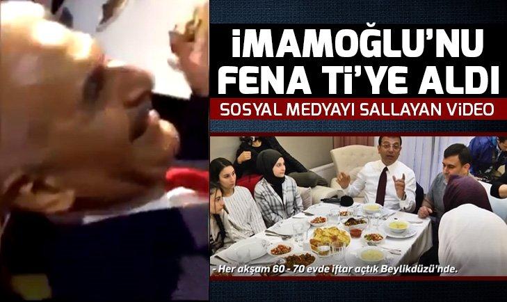 Binali Yıldırım'dan Ekrem İmamoğlu'na 'iftar' göndermesi | Video