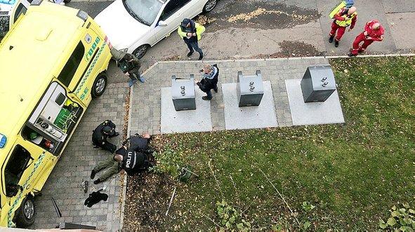 Oslo'da ambulanslı saldırı! Çok sayıda yaralı var