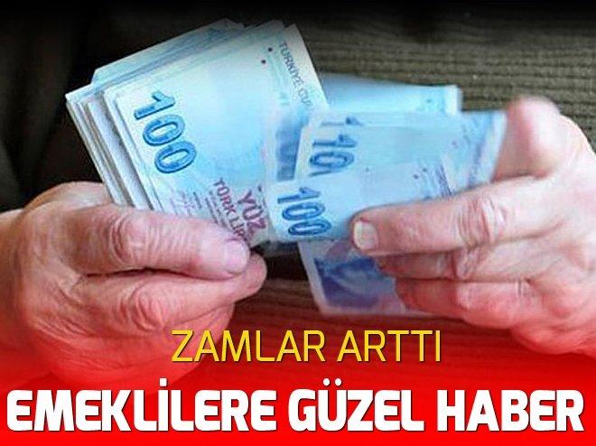 EMEKLİ ZAMMI ARTTI