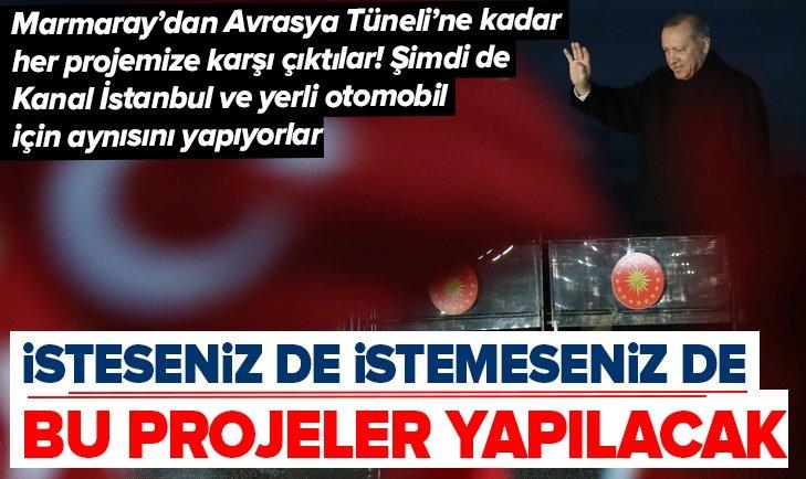 Başkan Erdoğan'dan Kocaeli'de flaş açıklamalar
