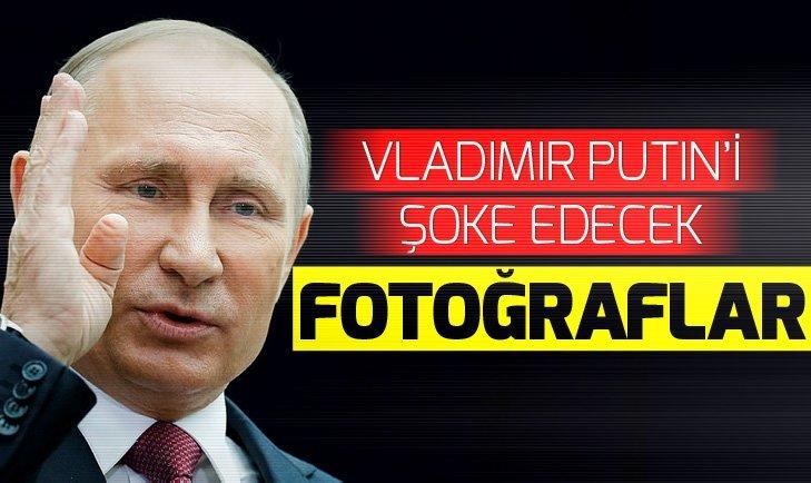 İngiltere'de Putin'i şoke edecek fotoğraflar!