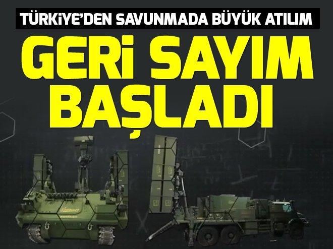 Türkiye'den savunmada büyük atılım