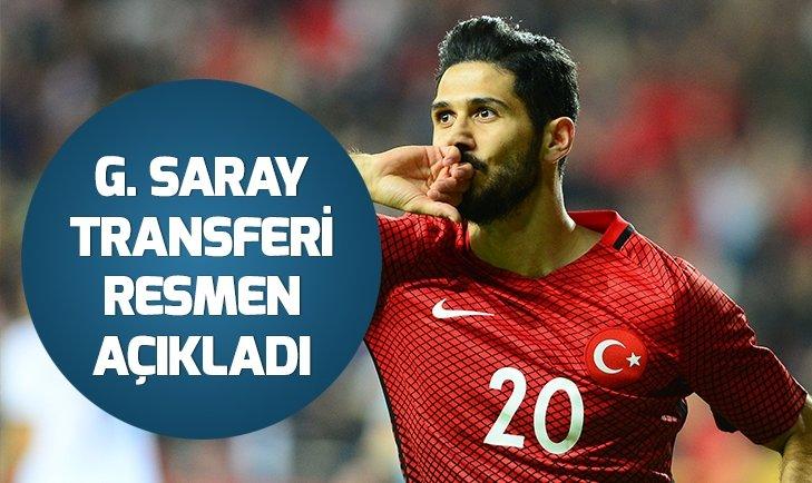 Galatasaray Emre Akbaba transferini KAP'a bildirdi