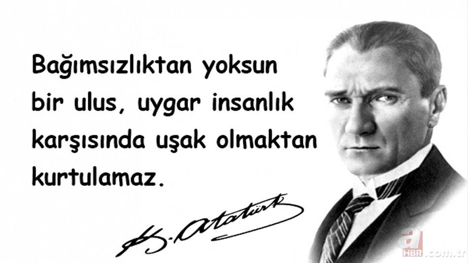 29 Ekim en güzel Atatürk fotoğrafları! 29 Ekim Cumhuriyet Bayramı en yeni  yazılı Atatürk resimleri!
