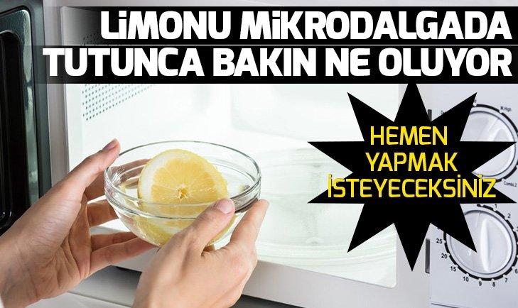 Günlük yaşantınızda işlerinizi kolaylaştıracak pratik bilgiler! Limonu mikrodalga fırında 15-20 saniye ısıtırsanız...