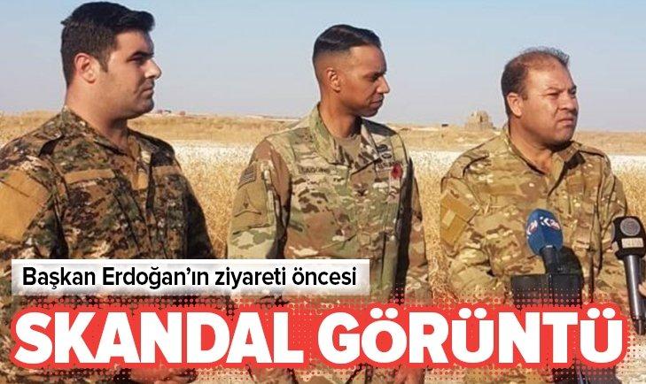 ERDOĞAN'IN ZİYARETİ ÖNCESİ SKANDAL GÖRÜNTÜ!