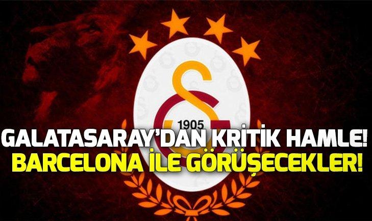 GALATASARAY'DAN KRİTİK HAMLE!