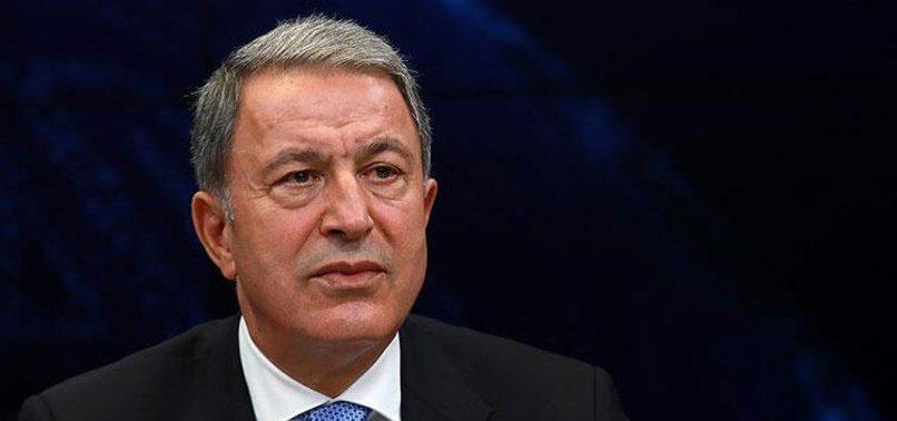 Son dakika: Bakan Akar'dan Doğu Akdeniz mesajı: Deniz Kuvvetlerimiz çok daha güçlü bir konuma ulaşacak