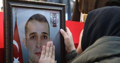 Fırat Kalkanı bölgesinde şehit olan asker Samsun'datoprağa verildi