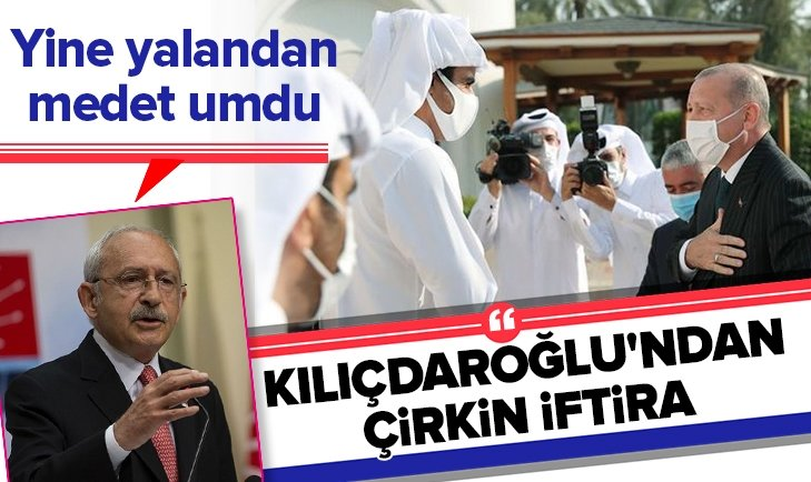 CHPlideri Kılıçdaroğlu'ndan çirkin yalan!