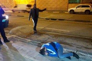 Bursa'da kaza yapan alkollü sürücü ağladı