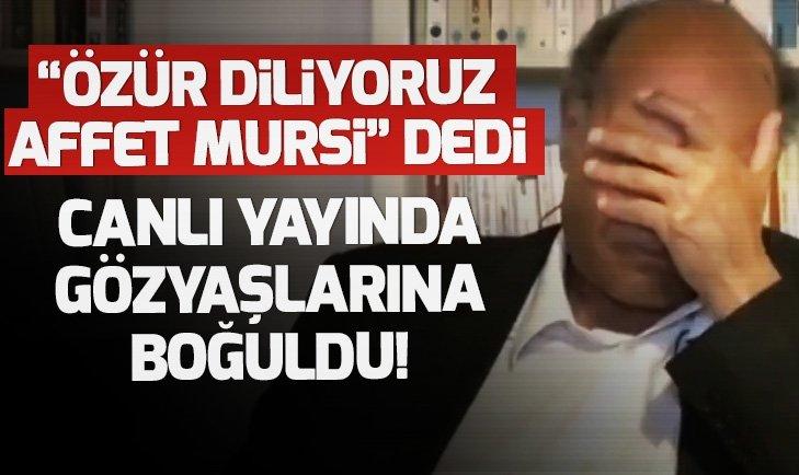 Tunus eski devlet başkanı Merzuki canlı yayında Mursi için gözyaşlarına boğuldu |Video