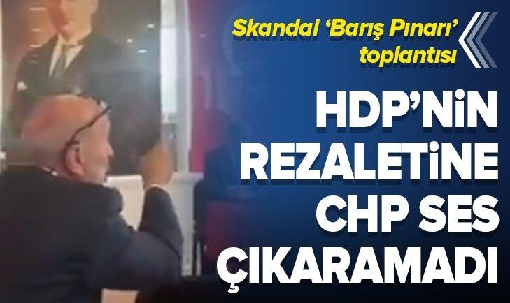 HDP'Lİ İSMİN KATLİAM SÖZLERİNE CHP'Lİ ÖZTRAK SUS PUS OLDU!
