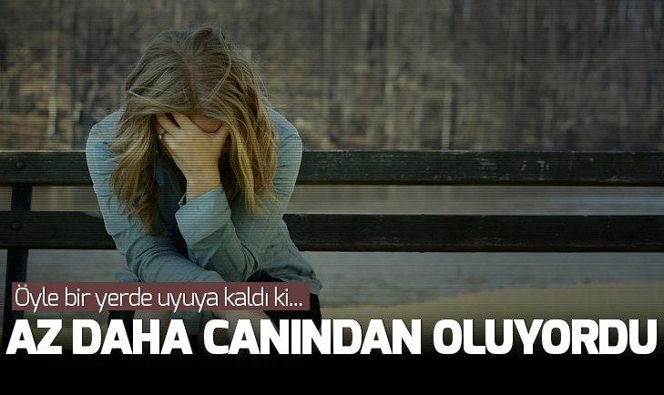 ÖYLE BİR YERDE UYUYA KALDI Kİ...