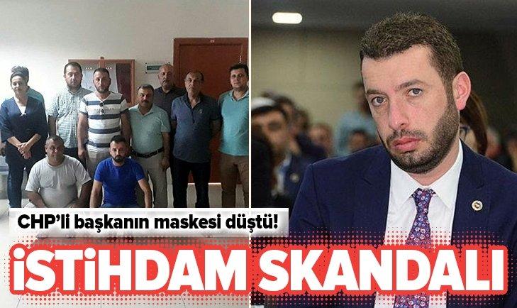 CHP'Lİ BELEDİYEDE İSTİHDAM SKANDAL!