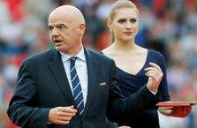 FIFA Başkanı'ndan Beşiktaş'a övgü